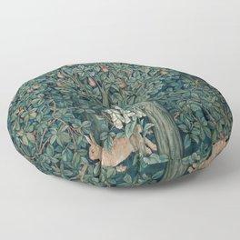 William Morris Greenery Tapestry Part 1 Floor Pillow