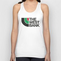 palestine Tank Tops featuring The West Bank by Yusef Mubeen