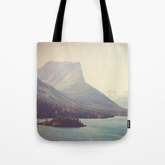 Retro Glacier Tote Bag