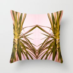 Psychotropical Throw Pillow
