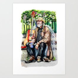 We Are The Music Makers Art Print
