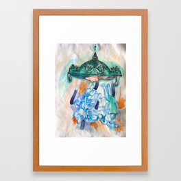 Become Framed Art Print