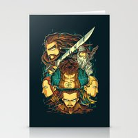 the hobbit Stationery Cards featuring The Hobbit by anggatantama
