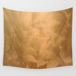 Brushed Copper Metallic - Beautiful - Rustic Glam - Fancy Faux Finishes - Metallic Paint Wall Tapestry