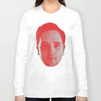 chad wys Long Sleeve T-shirts featuring Chad Head by Blake Makes Tees