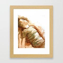 Monochromatose Framed Art Print