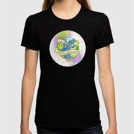 The World Only Spins Forward T-shirt