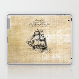 Treasure Island - Robert Louis Stevenson Laptop & iPad Skin