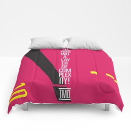 You're Adding A Layer of Complexity! - TMD Comforters