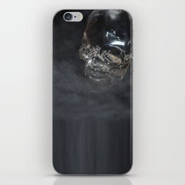 Smoking Skull cloud iPhone Skin