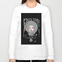 perfume Long Sleeve T-shirts featuring Psychedelic Perfume by Paul Bridgeman