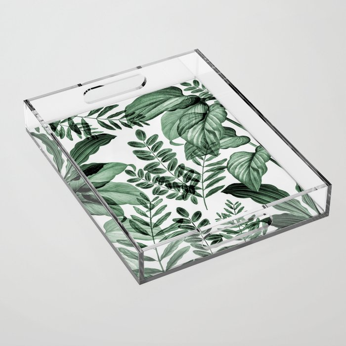Tropical Rainforest - greenery Acrylic Tray