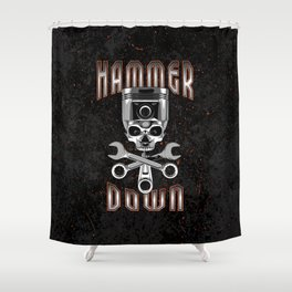 Hammer Down Shower Curtain