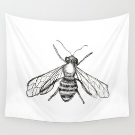 The Pale Bee Wall Tapestry