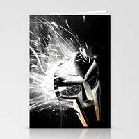 mf doom Stationery Cards featuring MF Doom by Tommy Cash