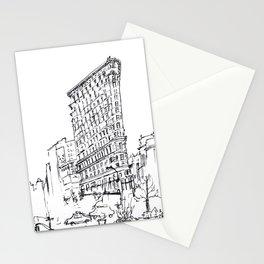 NYC Flatiron Building Sketch Stationery Cards