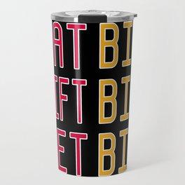 Big x 3 (#8) Travel Mug