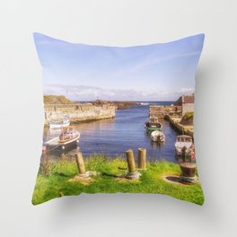 The Little Harbour Throw Pillow