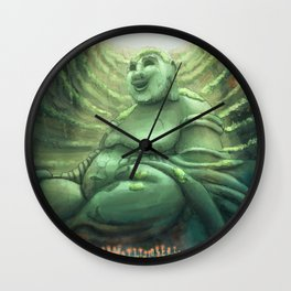 Monk's Cenote Wall Clock
