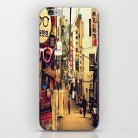seoul iPhone & iPod Skins featuring Seoul #1 by MysticJin
