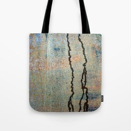 Metal Rain II Tote Bag