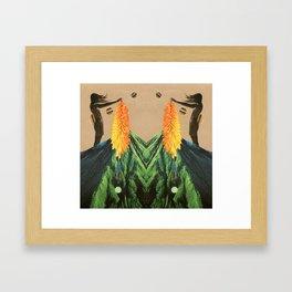nihil ausus, nihil acquisitus Framed Art Print