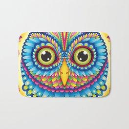 Tropicalia Owl Art Bath Mat