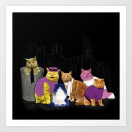 The Manhattan Gang Art Print