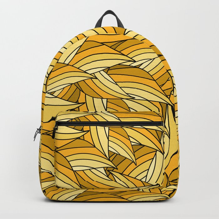 PRIMROSE YELLOW LEAVES B (abstract flowers nature) Backpack