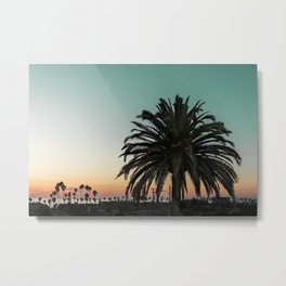 Hard Living Metal Print