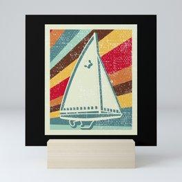 Sailing Sailing Boat Gift Mini Art Print