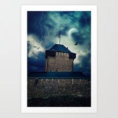 Castle Burg Art Print