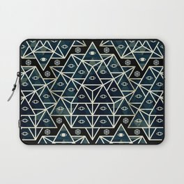 Sacred Geometry for your daily life - DARKIE YOGA ROCKET Laptop Sleeve