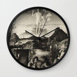 The Ascension. Bellini. Wall Clock