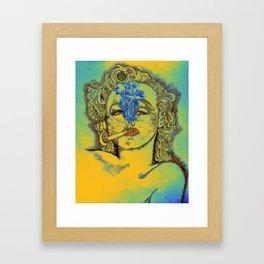 Rasta-Mon-roe Framed Art Print