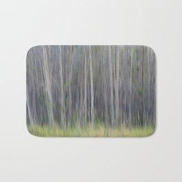 Birch Blurs Bath Mat