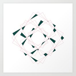 Geometry I Art Print