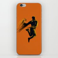 basketball iPhone & iPod Skins featuring Basketball  by Enzo Lo Re