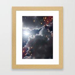 Dark as Day Framed Art Print
