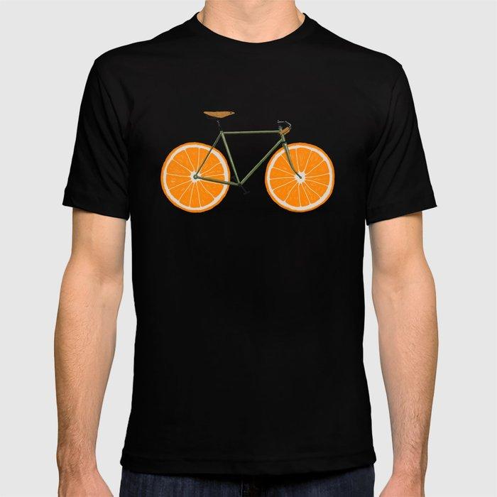 Zest (Orange Wheels) T-shirt