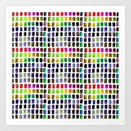 Brushstrokes 1a by Kathy Morton Stanion Art Print
