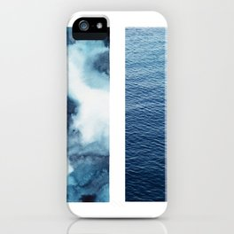 dois mares | two seas iPhone Case