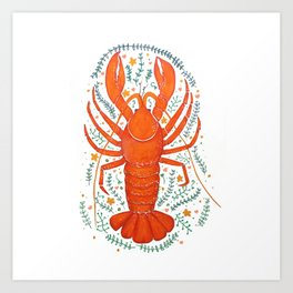 THERE'S NO CRAY LIKE HOME Art Print