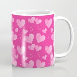 Pink Heart Melody Coffee Mug