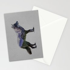 The Rocky Mountain Gray Wolf Stationery Cards