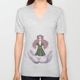 Thumbelina Doll Unisex V-Neck