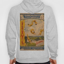 Vintage poster - Circus Trapeze Act Hoody