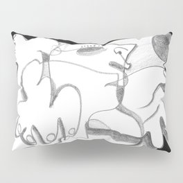 Dying in the Spotlight - b&w Pillow Sham