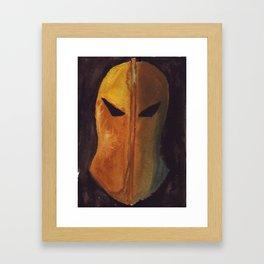 A Fate Worse Than Death Framed Art Print