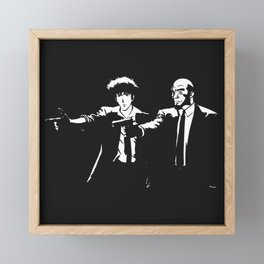 Spike Jet Knock Out - Cowboy Bebop Framed Mini Art Print